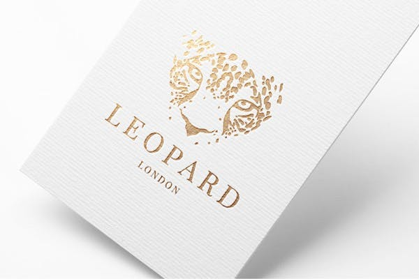 Luxury Stationery - Foil stamping process for handwritten notes