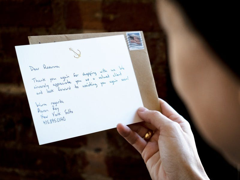 Holiday Handwritten Note Service